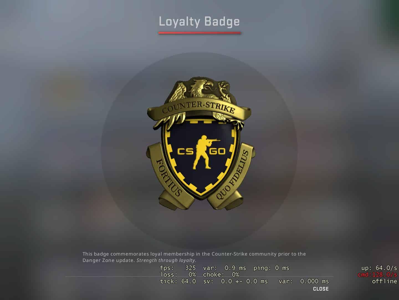 loyalty badge