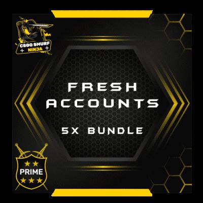 fresh accounts