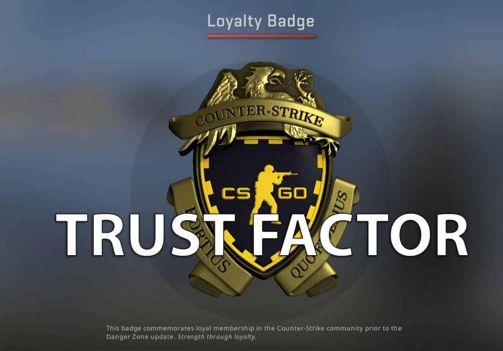 Increase CSGO Trust Factor