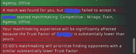 red trust factor