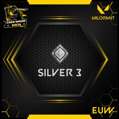 Valorant eu silver 3