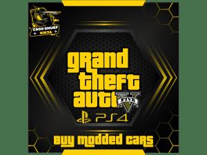 buy gta v modded cars ps4