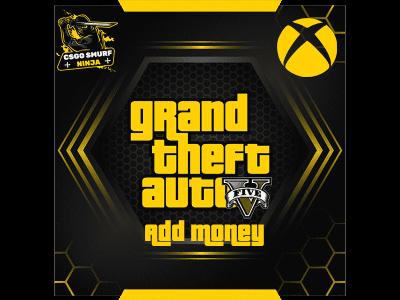 gta v xbox add money