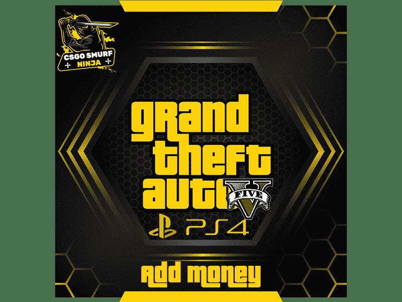 ps4 add money
