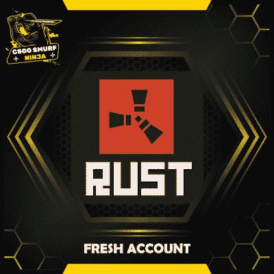 Rust fresh accounts