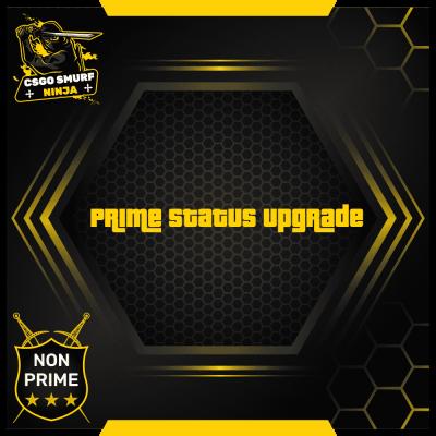 prime status upgrade